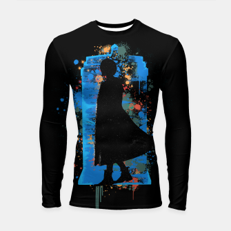Thumbnail image of The Lord Of Time - Doctor Who Longsleeve rashguard , Live Heroes