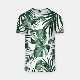 Thumbnail image of Tropical Jungle Leaves Pattern #4 (2020 Edition) #tropical #decor #art T-Shirt, Live Heroes