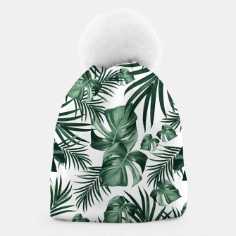 Thumbnail image of Tropical Jungle Leaves Pattern #4 (2020 Edition) #tropical #decor #art Mütze, Live Heroes