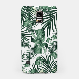 Thumbnail image of Tropical Jungle Leaves Pattern #4 (2020 Edition) #tropical #decor #art Handyhülle für Samsung, Live Heroes