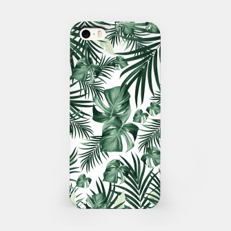 Thumbnail image of Tropical Jungle Leaves Pattern #4 (2020 Edition) #tropical #decor #art iPhone-Hülle, Live Heroes