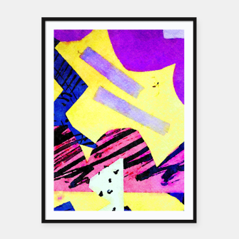 Thumbnail image of Mountain Framed poster, Live Heroes
