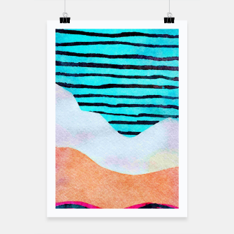 Thumbnail image of Sunset Poster, Live Heroes