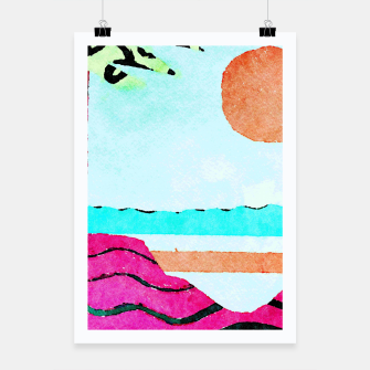 Thumbnail image of Beach Poster, Live Heroes