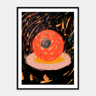 Thumbnail image of circles3 Framed poster, Live Heroes
