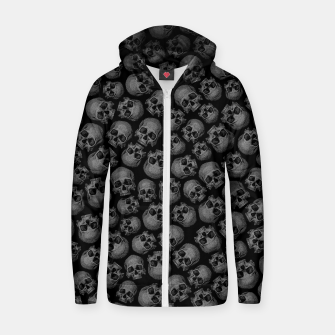 Thumbnail image of Totally Gothic III Zip up hoodie, Live Heroes