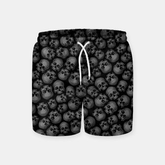 Thumbnail image of Totally Gothic III Swim Shorts, Live Heroes
