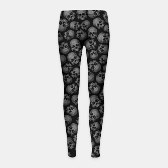 Thumbnail image of Totally Gothic III Girl's leggings, Live Heroes