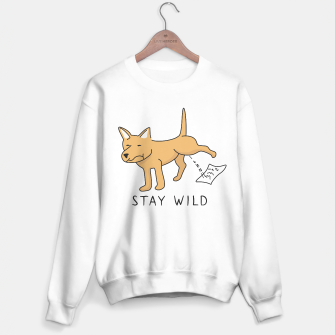 Thumbnail image of Let your wild side out Sweater regular, Live Heroes