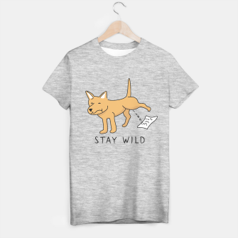 Thumbnail image of Let your wild side out T-shirt regular, Live Heroes