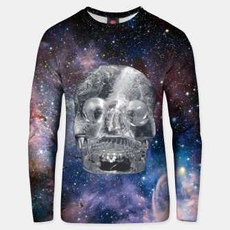 Thumbnail image of Crystall Skull and Galaxy Unisex sweater, Live Heroes