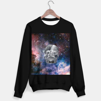 Miniaturka Crystall Skull and Galaxy Sweater regular, Live Heroes