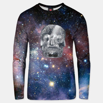 Thumbnail image of Crystal Skull and Galaxy  Unisex sweater, Live Heroes