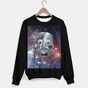 Miniaturka Crystal Skull and Galaxy  Sweater regular, Live Heroes