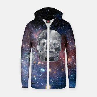 Miniaturka Crystal Skull and Galaxy  Zip up hoodie, Live Heroes