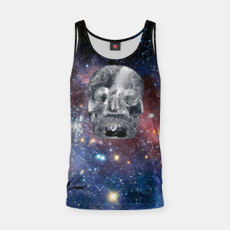 Miniaturka Crystal Skull and Galaxy  Tank Top, Live Heroes