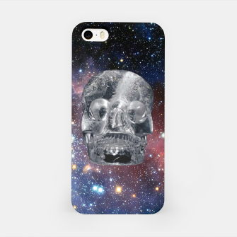 Miniaturka Crystal Skull and Galaxy  iPhone Case, Live Heroes