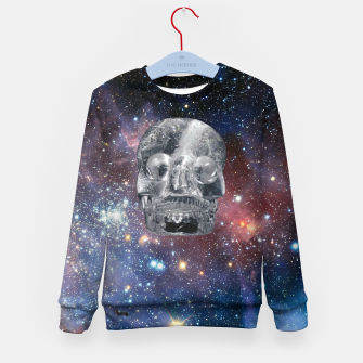 Miniaturka Crystal Skull and Galaxy  Kid's sweater, Live Heroes
