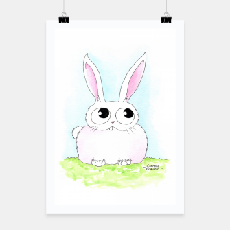 Miniaturka Bunny Poster, Live Heroes