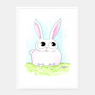 Thumbnail image of Bunny Framed poster, Live Heroes