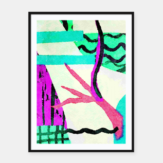 Thumbnail image of Branch Framed poster, Live Heroes