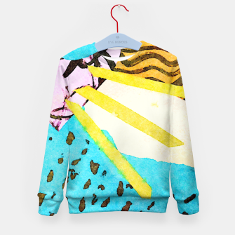 Thumbnail image of Spread Kid's sweater, Live Heroes