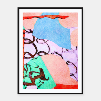 Thumbnail image of Polluted Framed poster, Live Heroes