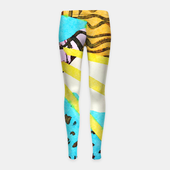 Thumbnail image of Spread Girl's leggings, Live Heroes