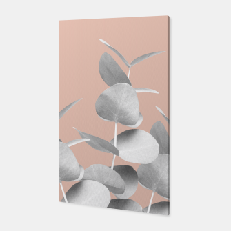 Thumbnail image of Eucalyptus Leaves Gray White Pale Terracotta #1 #foliage #decor #art  Canvas, Live Heroes