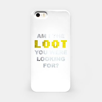 Thumbnail image of Am I the loot you were looking for? iPhone Case, Live Heroes