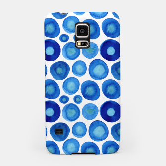 Thumbnail image of Classic Blue and White Watercolour Pattern Samsung Case, Live Heroes