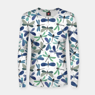 Thumbnail image of Collage of Bugs Pattern Women sweater, Live Heroes