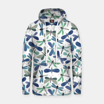 Thumbnail image of Collage of Bugs Pattern Hoodie, Live Heroes