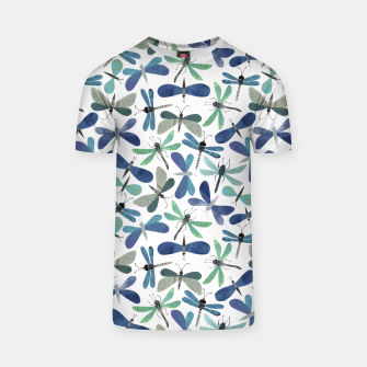 Thumbnail image of Collage of Bugs Pattern T-shirt, Live Heroes