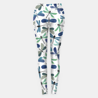 Thumbnail image of Collage of Bugs Pattern Leggings, Live Heroes