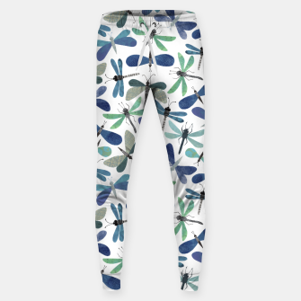 Thumbnail image of Collage of Bugs Pattern Sweatpants, Live Heroes