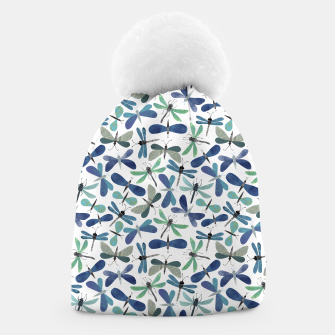 Thumbnail image of Collage of Bugs Pattern Beanie, Live Heroes
