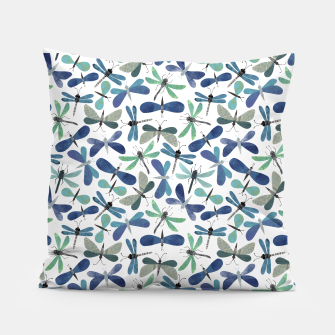 Thumbnail image of Collage of Bugs Pattern Pillow, Live Heroes