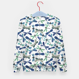 Thumbnail image of Collage of Bugs Pattern Kid's sweater, Live Heroes