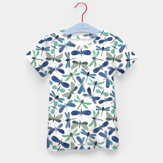 Thumbnail image of Collage of Bugs Pattern Kid's t-shirt, Live Heroes