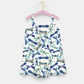 Thumbnail image of Collage of Bugs Pattern Girl's dress, Live Heroes