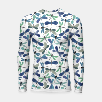 Thumbnail image of Collage of Bugs Pattern Longsleeve rashguard , Live Heroes