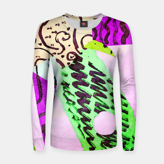 Thumbnail image of Flying Women sweater, Live Heroes
