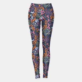 Thumbnail image of Night in the spring meadow Leggings, Live Heroes