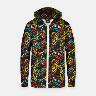 Thumbnail image of Night in the spring meadow 98 Sudadera con capucha y cremallera , Live Heroes