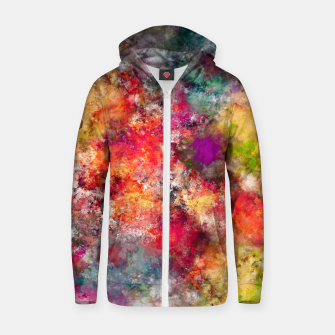 Thumbnail image of Tangle Zip up hoodie, Live Heroes