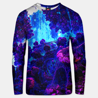 Thumbnail image of meanders of the mind Unisex sweater, Live Heroes
