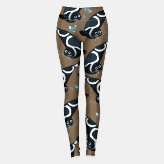 Ribbon seal pattern Leggings imagen en miniatura