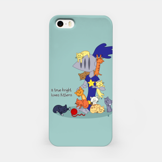 Thumbnail image of A True Knight Loves Kittens - Ernest the Knight iPhone Case, Live Heroes