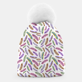 Thumbnail image of Feathers Beanie, Live Heroes